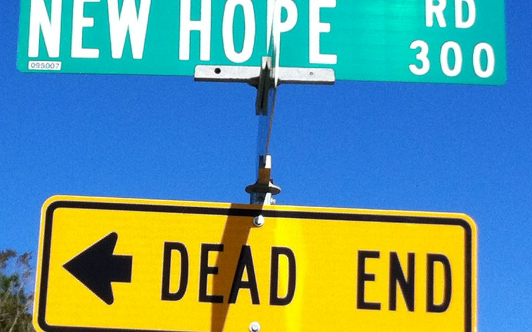 Have you reached the end of the road, or is it the beginning of a new one?