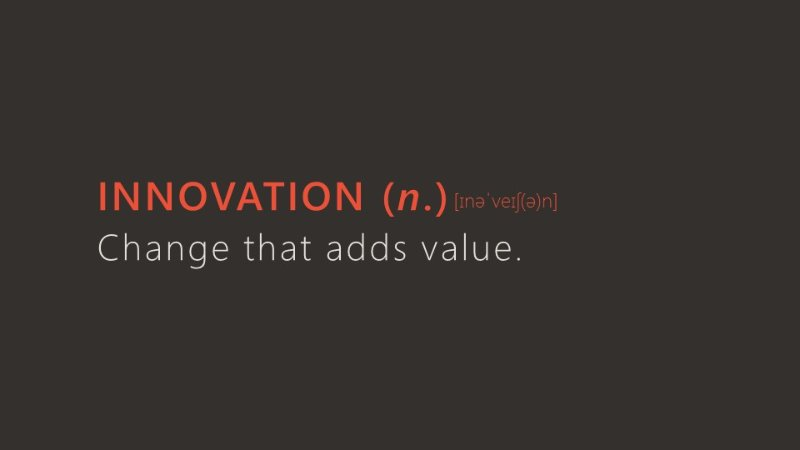 Innovation and the Management of Change